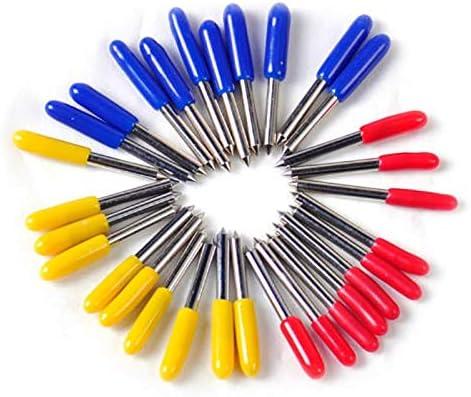 30Pcs 30 45 60 Grados Roland Plotter de corte Cuchillas de cuchillo de corte Offset: Amazon.es: Bricolaje y herramientas