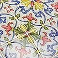 In Home NH2365 Tuscan Peel & Stick Backsplash Tiles, Multi-Color