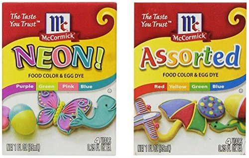 Compare price to mccormick neon food coloring | TragerLaw.biz