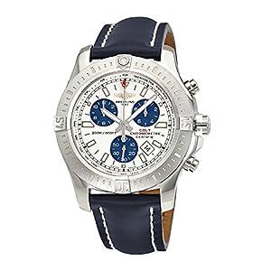 Breitling Colt Chronograph Silver Dial Mens Watch A7338811-G790BLLD