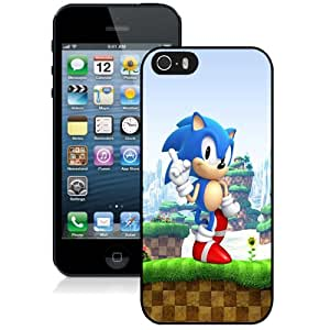 Fashion DIY Custom Designed iPhone 5s Generation Phone Case For Sonic Game Phone Case Cover