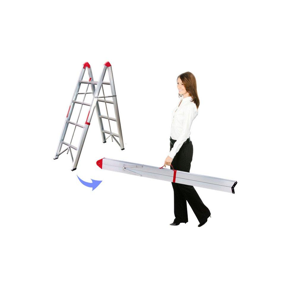 【コンパクトスティックステップ脚立3段タイプ】 脚立がスティック状ボードに縮小 B00DIR20RI ステップ:3段タイプ ステップ:3段タイプ