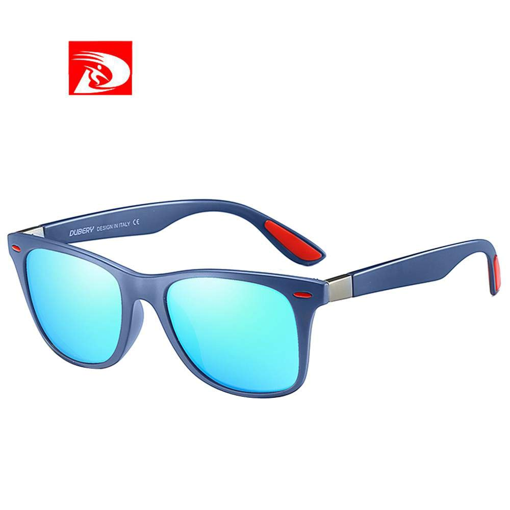 9002d15f44 Amazon.com  DUBERY Sunglasses Men s Polarized Sunglasses Outdoor Driving  Men Women Sport Frame Fishing Hunting Boating Glasses New (M)  Beauty