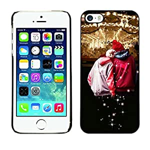 Paccase / SLIM PC / Aliminium Casa Carcasa Funda Case Cover - Design Circues Friends - Apple Iphone 5 / 5S