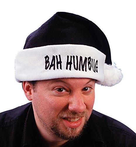 Bah Humbug Santa Hat Costume Accessory