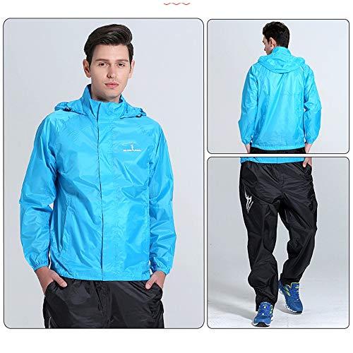 Adulti Da Moda Donna Xxxl Blue Per Size Tuta Geyao Uomo Turismo color Abbigliamento All'aperto Impermeabile Pesca Trekking Leggero Gray Equitazione E xBtqxgwY