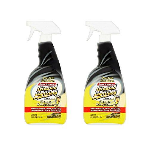 Greased Lightning Super Strength Multi-Purpose Cleaner & Degreaser, 32 fl oz (1) (2 pack)