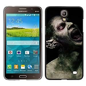 Caucho caso de Shell duro de la cubierta de accesorios de protección BY RAYDREAMMM - Samsung Galaxy Mega 2 - Monstruo Spooky Demon Hombre