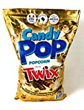 Candy Pop Twix Coated Popcorn Drizzled in Chocolate and Caramel 20oz