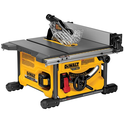 DEWALT DCS7485T1 FLEXVOLT 60V MAX Table Saw Kit, 8-1/4""