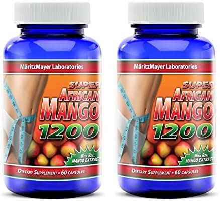 African Natural Weight Capsules Bottle
