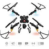 Best Choice Products DIY Detachable RC Drone w/ 2.0MP FPV Camera, Gravity Sensor, Altitude Hold, Headless Mode - Black