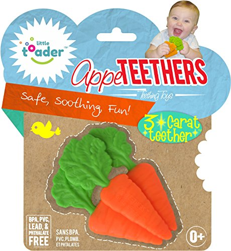 Little Toader Teething Carrots Appe Teether product image