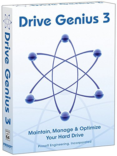 Drive Genius 3 for Mac, Hard Drive Maintenance Utility, Speed Up, Clean Up and Protect your Mac, used by Apple