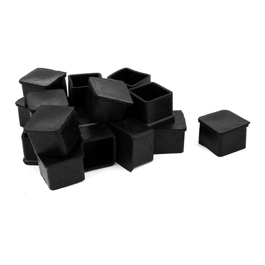 sourcingmap gummi viereckig m bel tisch bein fu decke halter 30mm x 30mm 19pcs jetzt kaufen. Black Bedroom Furniture Sets. Home Design Ideas