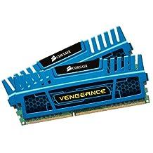 Corsair Vengeance Blue 4GB (2x2GB) DDR3 1600 MHZ (PC3 12800) Desktop Memory (CMZ4GX3M2A1600C9B)