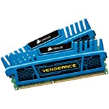 Corsair Vengeance Blue 8 GB (2X4 GB) PC3-12800 1600mHz DDR3 240-Pin SDRAM Dual Channel Memory Kit 1.5V