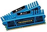 Corsair CMZ4GX3M2A1600C9B Vengeance Blue 4GB (2x2GB) DDR3 1600 MHZ (PC3 12800) Desktop Memory 1.5V