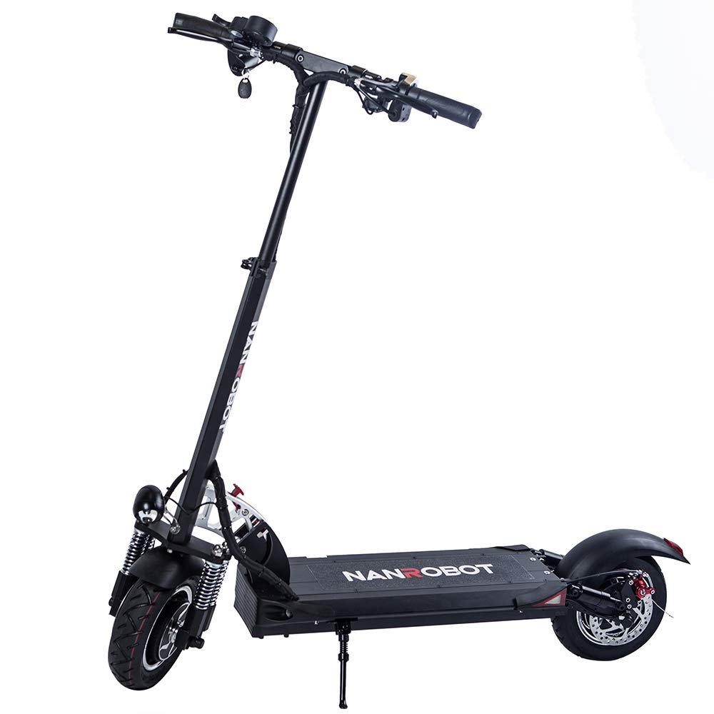 Amazon.com : NANROBOT D5 + Powerful Folding Electric Scooter ...
