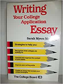 on writing the college application essay amazon