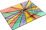 MSD Place Mat Non-Slip Natural Rubber Desk Pads Design 36303336 a Colorful Rainbow