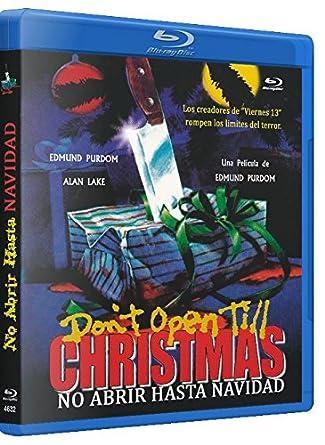 Dont Open Till Christmas.Don T Open Till Christmas Blu Ray Region B Amazon Co Uk