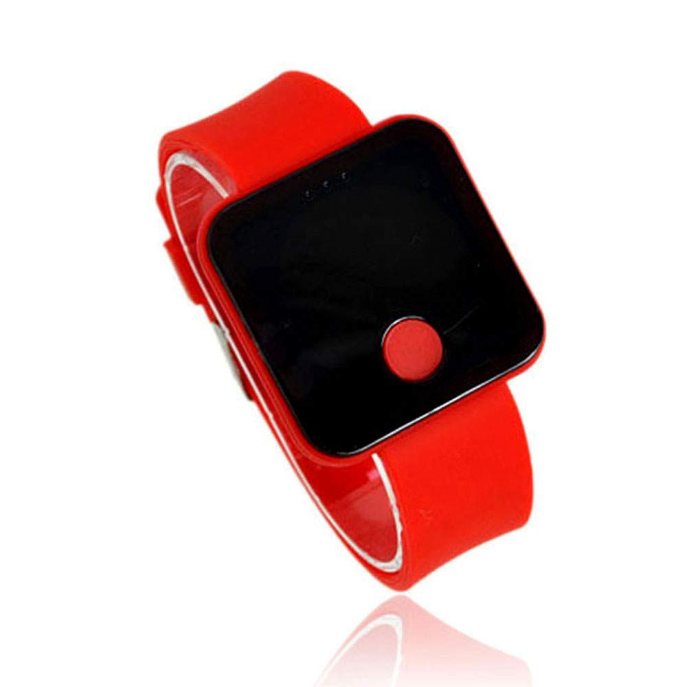 Relojes Inteligentes, Zolimx Nuevo Reloj de Pulsera Digital Ultra Delgado para Hombres de Silicona con Silicona Digital: Amazon.es: Deportes y aire libre