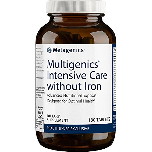 Metagenics - Multigenics Intensive Care without Iron, 180 Count