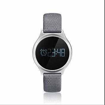 ... Smart Watch Reloj de pulsera Tensiómetro de dormir Monitor Smart Sport Watch Remote Control Camera Smart watchs para iOS Android: Amazon.es: Electrónica