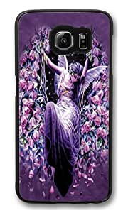Gatekeeper Angel PC Case Cover for Samsung S6 and Samsung Galaxy S6 Black