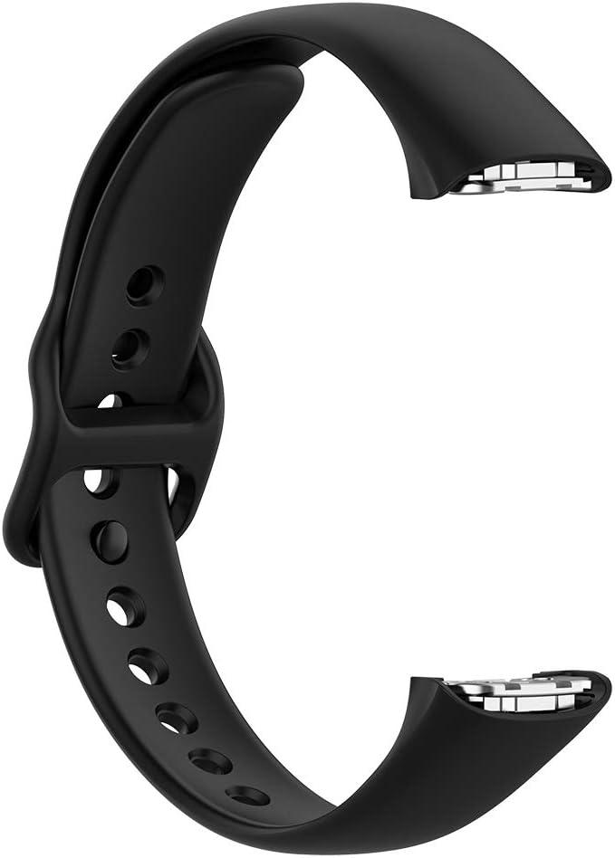 Malla Para Samsung Galaxy Fit Sm-r370 (negro De Silicona)