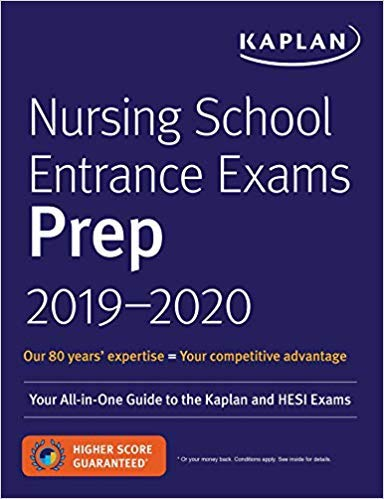 [1506234542] [9781506234540] Nursing School Entrance Exams Prep 2019-2020: Your All-in-One Guide to the Kaplan and HESI Exams 8th Edition-Paperback