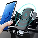 TORRAS Wireless Car Charger Mount, Auto-Clamping 7.5W / 10W...