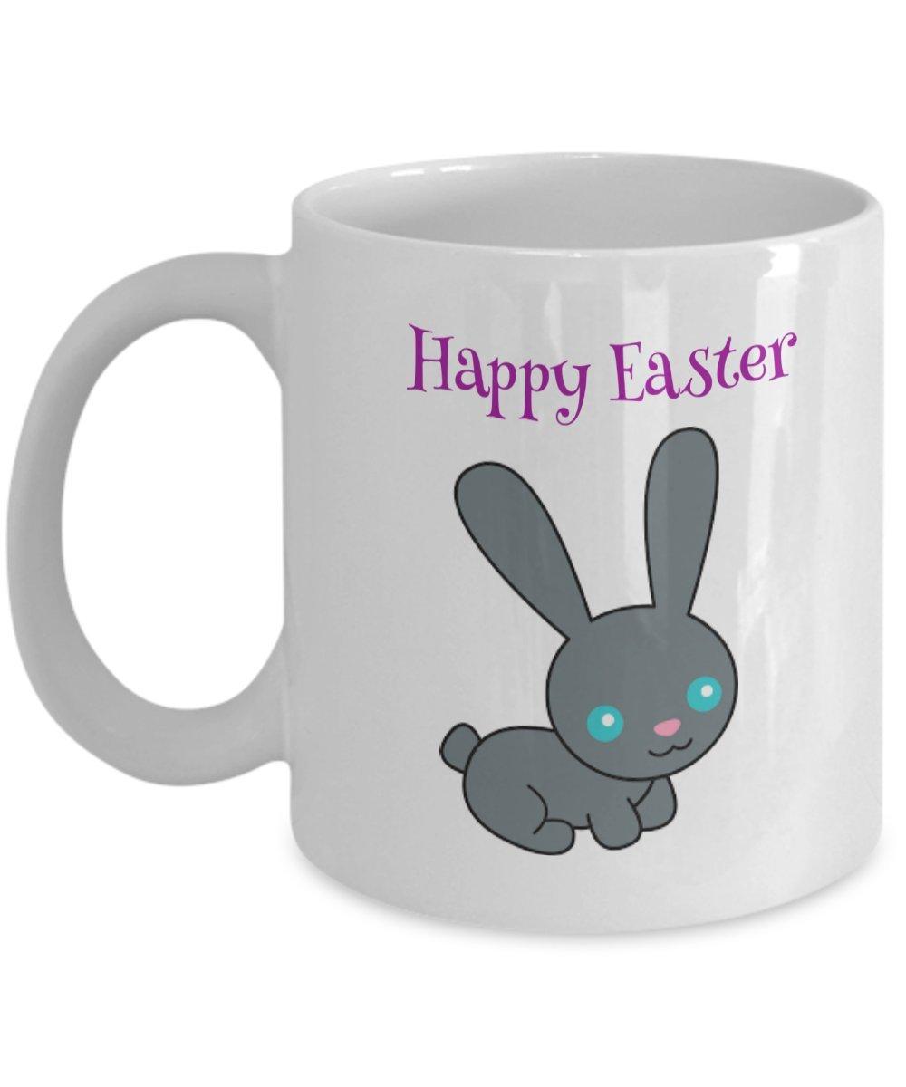 Happy Easterホワイトコーヒーまたは紅茶マグ 11oz GB-2449037-20-White B079YJ3R2L ホワイト 11oz