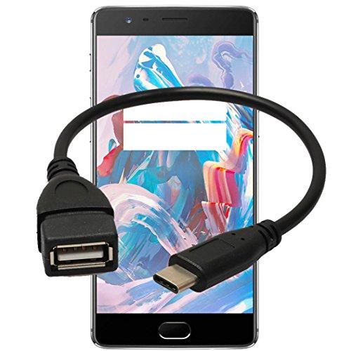 Hipzop USB Kabel USB 3.1 Typ-C-USB-C OTG Kabel USB3.1 Stecker auf USB 2.0 Typ A Buchse Adapter Cord