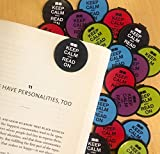 Keep Calm and Read on Bookmarks - 36 Bulk Bookmarks for Kids girl's boys- School Student Incentives – Library incentives – Reading Incentives - Party Favor Prizes - Classroom Reading Awards!