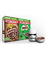 NESTLÉ KOKO KRUNCH + MILO Cereal FREE Star Wars Cereal - Milk Container,