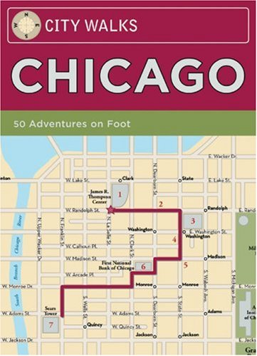 City Walks: Chicago: 50 Adventures On - Hill Il Spring