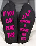 Grandma Socks For Women's Funny Gift If You Can Read This Love