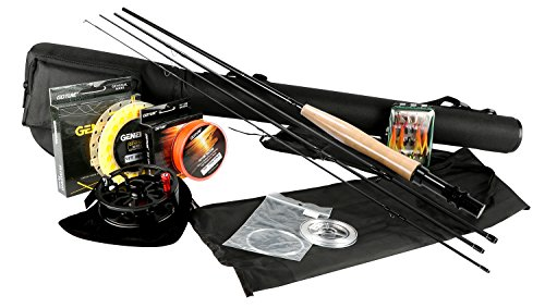Goture Fly Fishing Rod and Reel Combos Fit Saltwater Fres...
