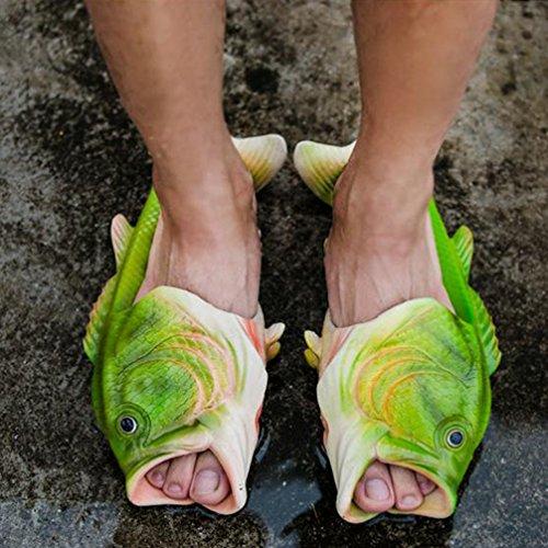 Herren Pantoffel Sommer Sandalen Strand Schuhe Flache Hausschuhe Kreative Hausschuhe Herren