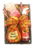 Fall Gift - Autumn Gift - Campus Care Package - Miss You Gift! Great Gift Basket for Wishing a Happy Thanksgiving! (Thankful For You Gift - Pumpkin Harvests)