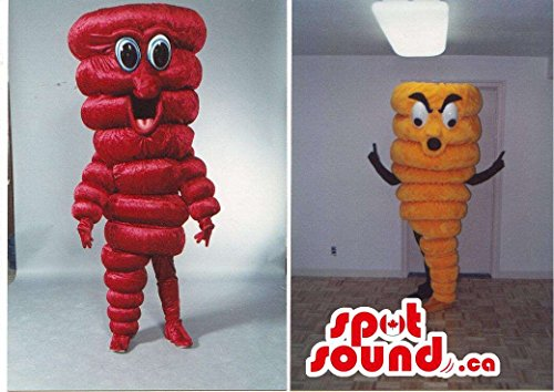 Red H (Twister Costume Men)