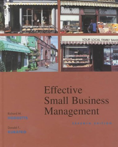 Effective Small Business Management (7th Edition)
