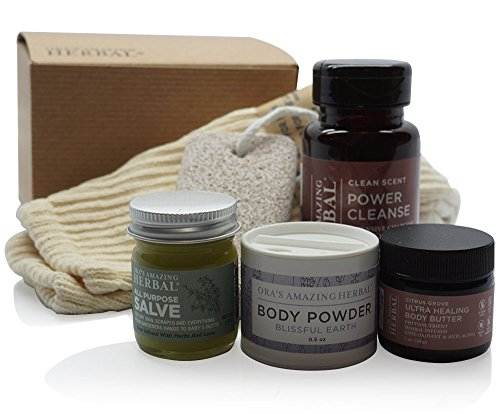 Natural-Foot-Care-Set-For-Men-or-Women-Scented-or-Unscented-Natural-and-Paraben-Free-With-Organic-Cotton-Socks