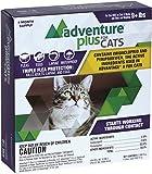 Adventure Plus - Flea Drops - MADE IN THE USA ((4-dose) CAT (9+ lbs))