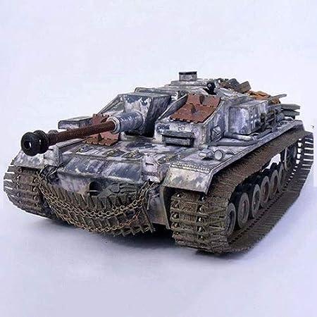 ELVVT 1:25 Alemán III Asalto Pistola F del tanque de papel 3D Modelo Rompecabezas modelo de juguete de construcción de bricolaje hecho a mano Modelo de juguete de los niños regalos de cumpleaños de la