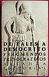 img - for Fragmentos Presocraticos (Spanish Edition) book / textbook / text book