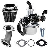 125 pitbike carburetor - QKPARTS 22mm Carburetor Air Filter For 110cc 125cc CRF SSR Sunl Taotao Pit bike ATV