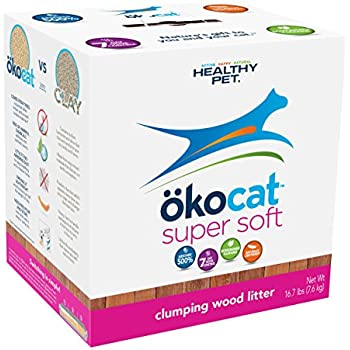 ökocat Super Soft Natural Wood Clumping Litter, Large